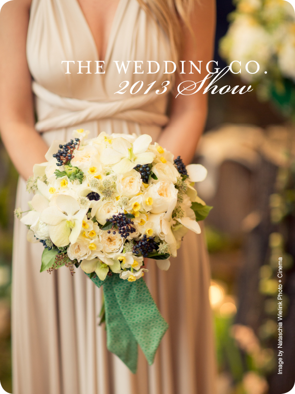 The Wedding Co. Show 2013 - Featuring Mimosa Flower Studio