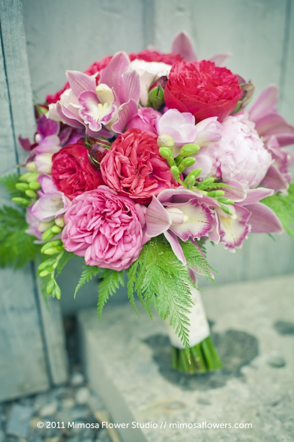 Pink Bridal Bouquet 2
