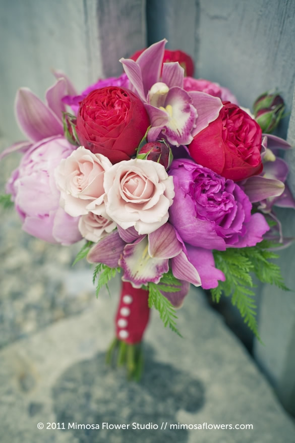 Pink Bridesmaid's Bouquet