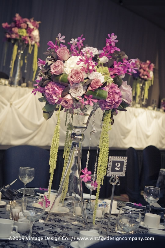 Vintage Design Co. // Niagara Falls Wedding Florist // Wedding Reception