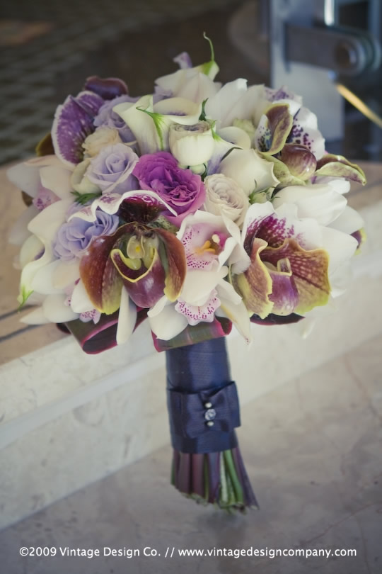 Vintage Design Co. // Niagara Falls Wedding Florist // Bride's Bouquet