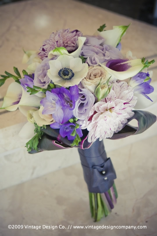 Vintage Design Co. // Niagara Falls Wedding Florist // Bridesmaid's Bouquet