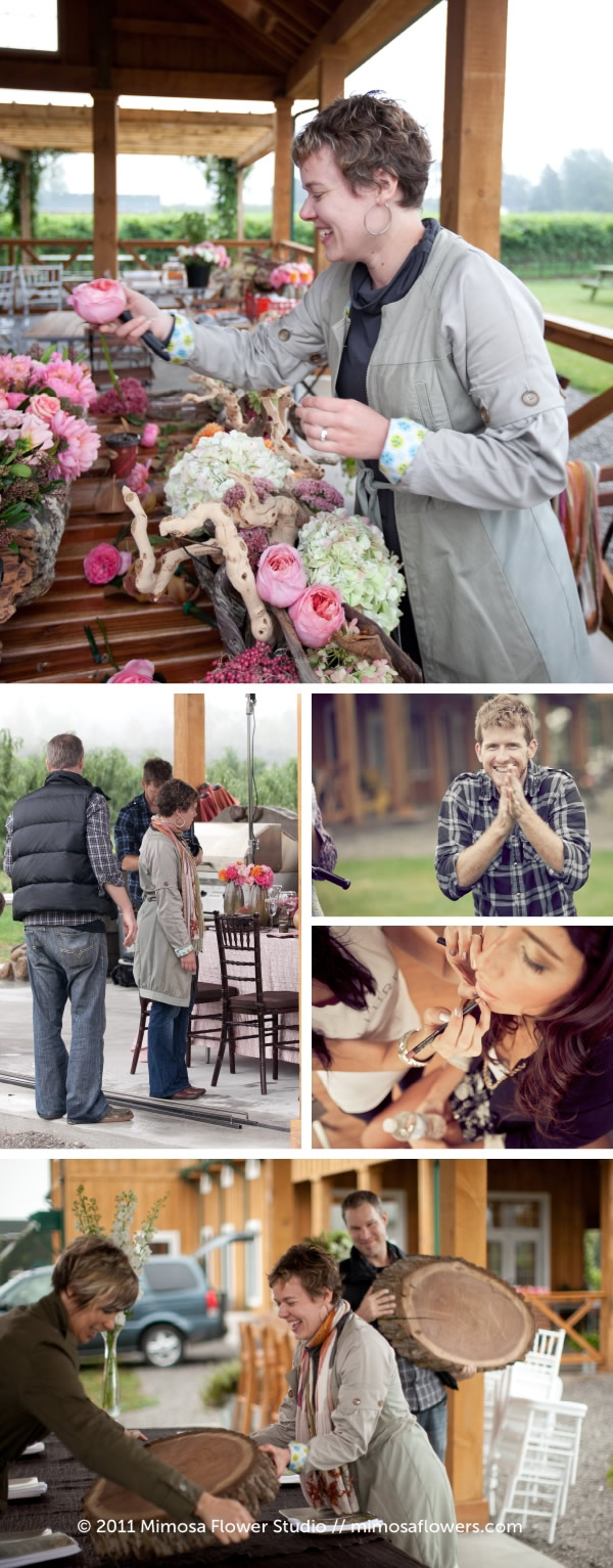 Mimosa Flower Studio :: Behind the Scenes Part 3