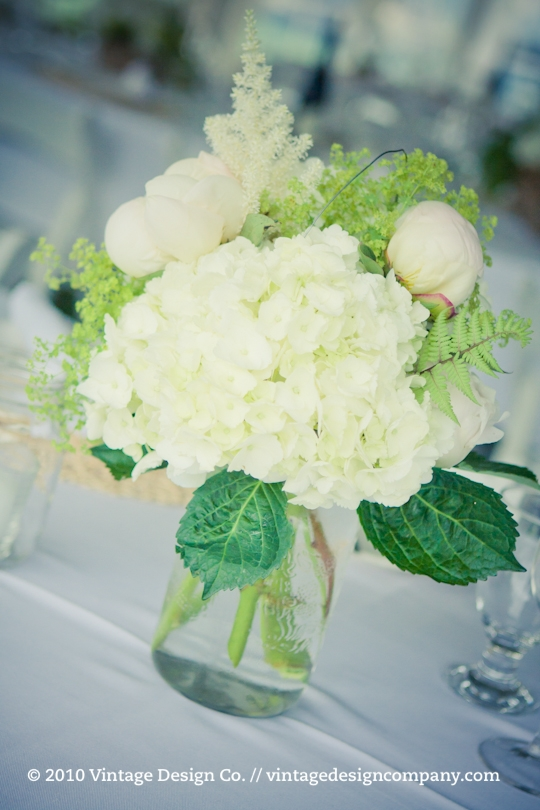Good Earth Food and Wine // Outdoor Wedding Reception Centerpieces 3