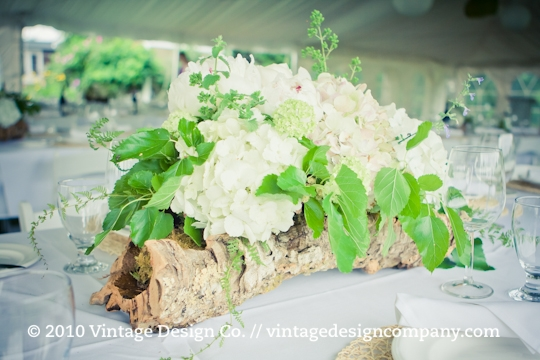 Good Earth Food and Wine // Cork Wedding Reception Centerpieces
