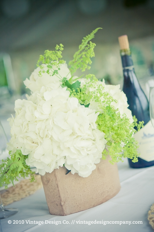 Good Earth Food and Wine // Outdoor Wedding Reception Centerpieces 2