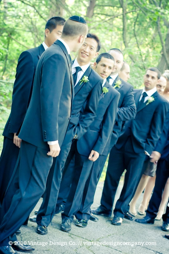 Vintage Design Co. // Jewish Groomsmen