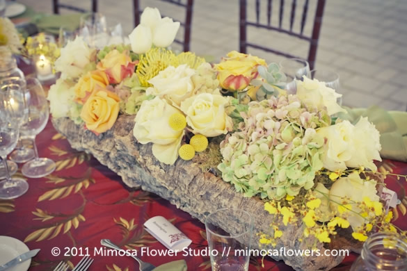 Chateau des Charmes Winery - Outdoor Reception Tablescape 15