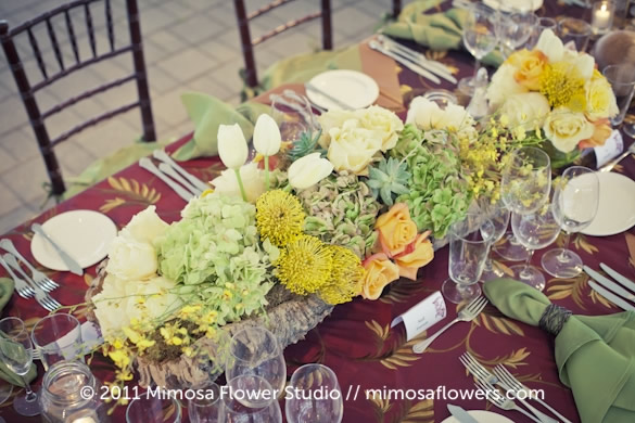 Chateau des Charmes Winery - Outdoor Reception Tablescape 4