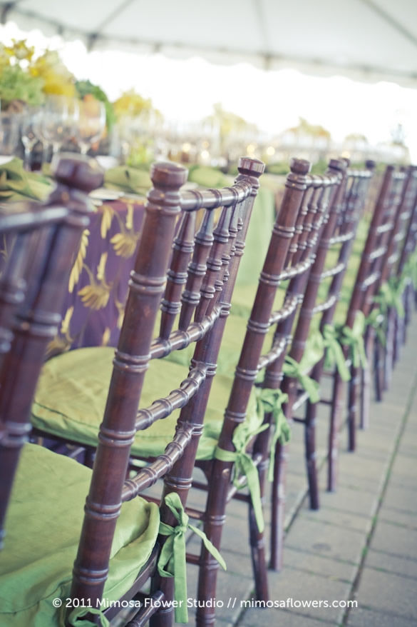 Chateau des Charmes Winery - Outdoor Reception Tablescape 5
