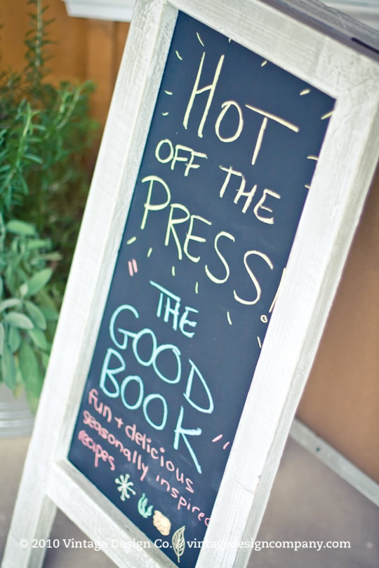 Good Earth Food and Wine Co. // The Good Book Cookbook Launch