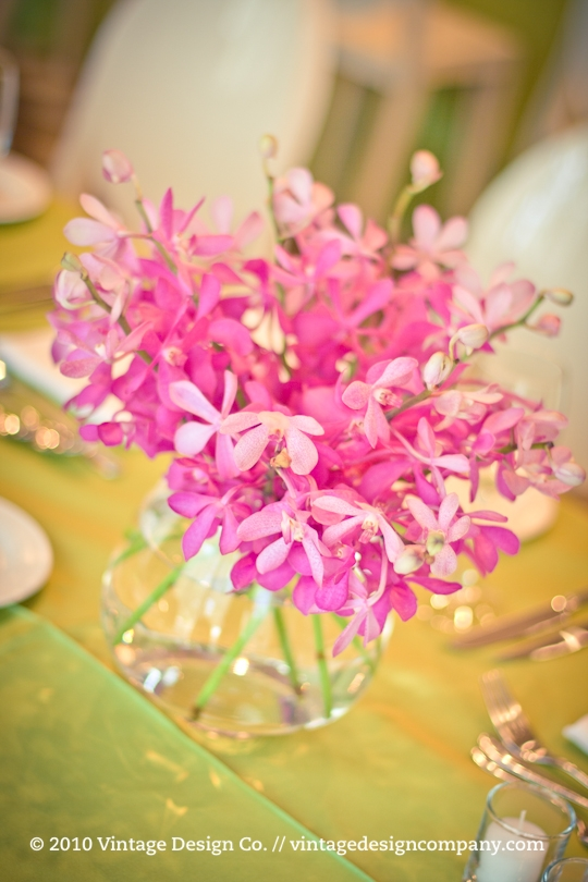 Wedding Centerpieces at The Granite Club