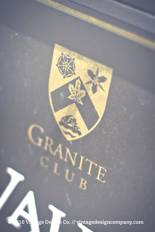 The Granite Club Toronto ... logo