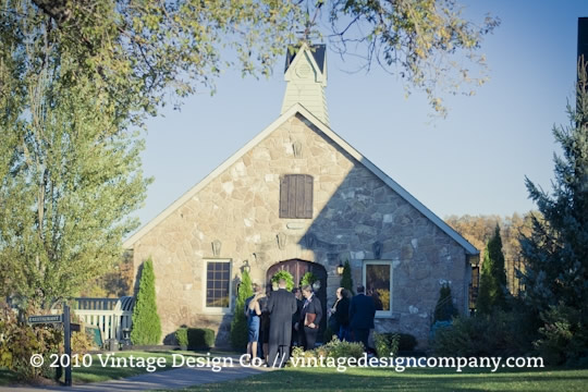 Wedding at Vineland Estates Winery Carriage House 4