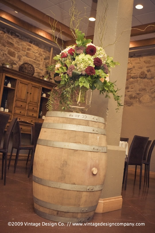 Niagara Wedding Florist // Vintner's Cellar