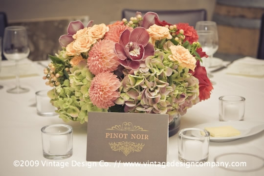 Niagara Wedding Florist // Reception Centerpieces 2