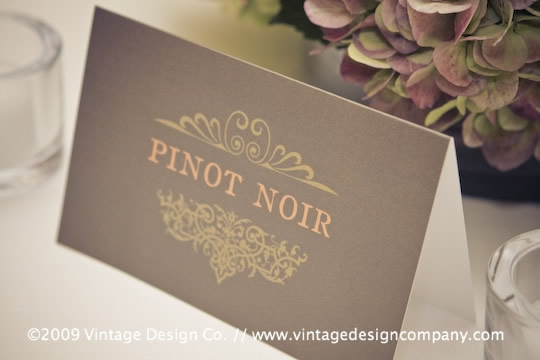 Niagara Wedding Florist // Wedding Stationery