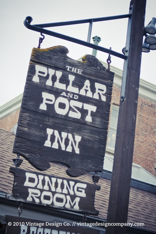Vintage Design Co. // Pillar and Post