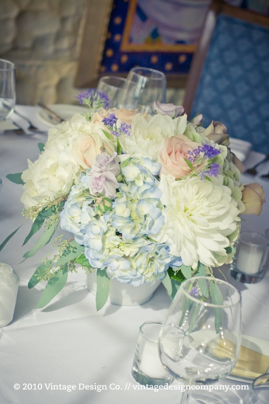 Lavender and Blue Wedding Flowers 2