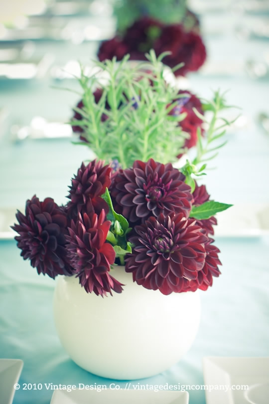 Niagara on the Lake Wedding Florist // Dahlias and Lavender Tablescapes 2