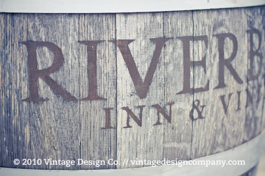 Niagara on the Lake Wedding Florist // Riverbend Inn & Vineyard Wine Barrel