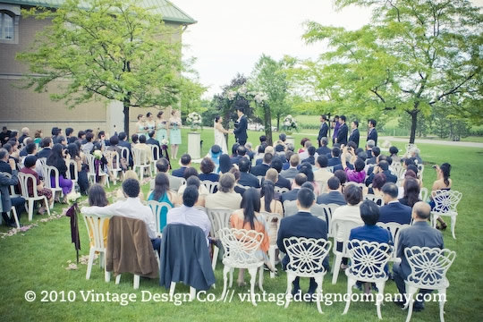 Outdoor Winery Wedding Ceremony in Niagara on the Lake 6