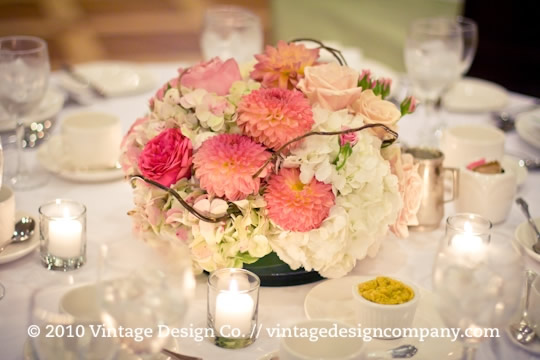 Vintage Design Co. // Queen's Landing Grand Georgian Ballroom Wedding 2