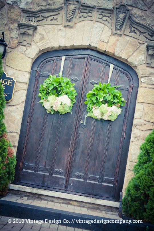 Niagara Wedding Florist // Vineland Estates Carriage House 3