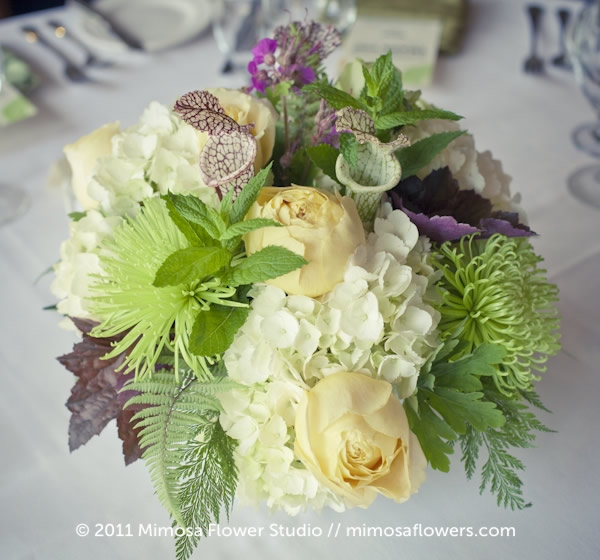 Inn on the Twenty - Wedding Reception Centerpieces