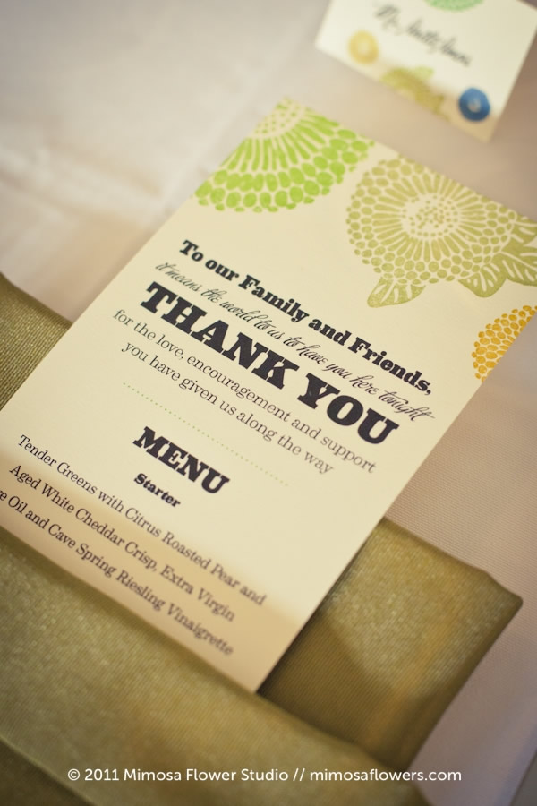 Inn on the Twenty - Wedding Stationery 4