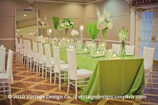 Vintage Design Co. // Wedding Reception at Queen's Landing 2