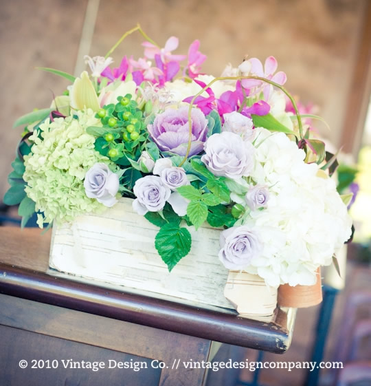 Niagara Winery Wedding // Reception Centerpieces