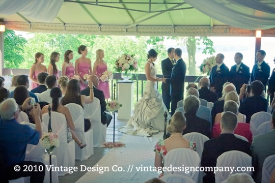 Niagara on the Lake Wedding Florist // Queenston Heights Restaurant 2