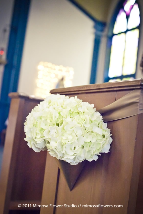 Wedding Ceremony and Altar Flowers 2