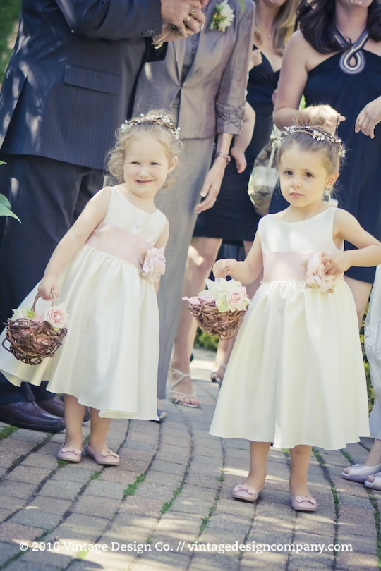 Vintage Design Co. // Flower Girls