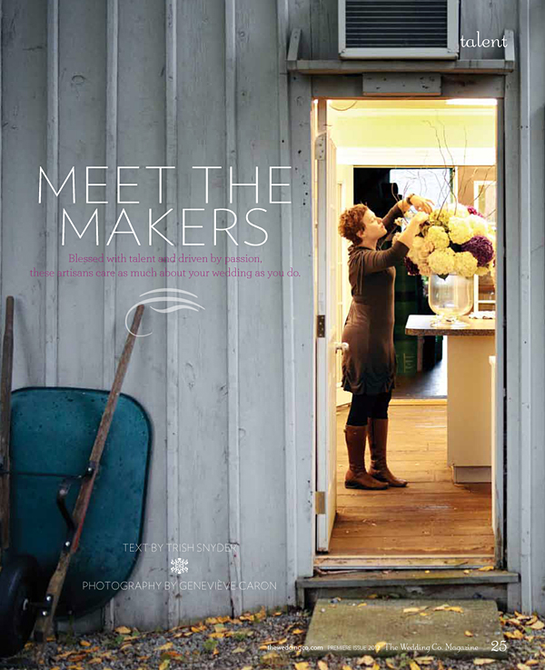 The Wedding Co. Magazine - Meet the Makers - Mimosa Flower Studio 1