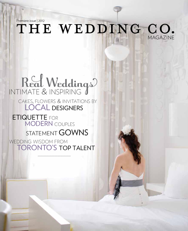 The Wedding Co. Magazine - Premier Issue - Featuring Mimosa Flower Studio