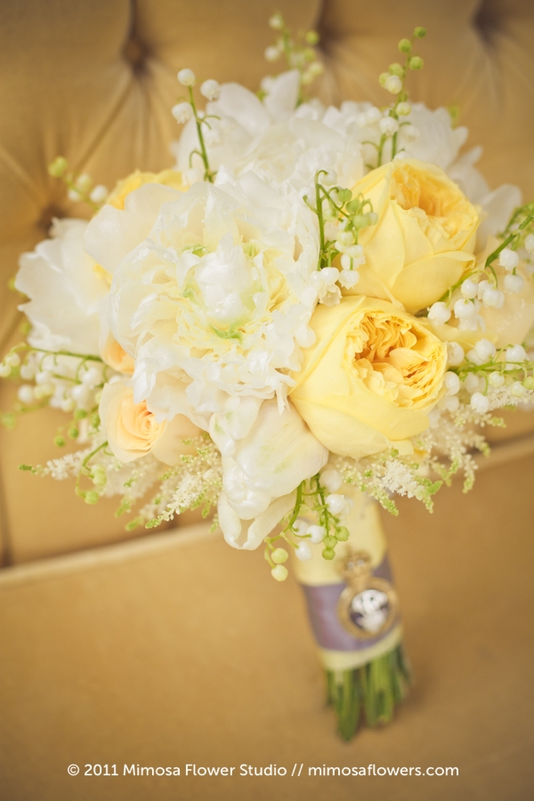 Yellow and White Niagara on the Lake Wedding