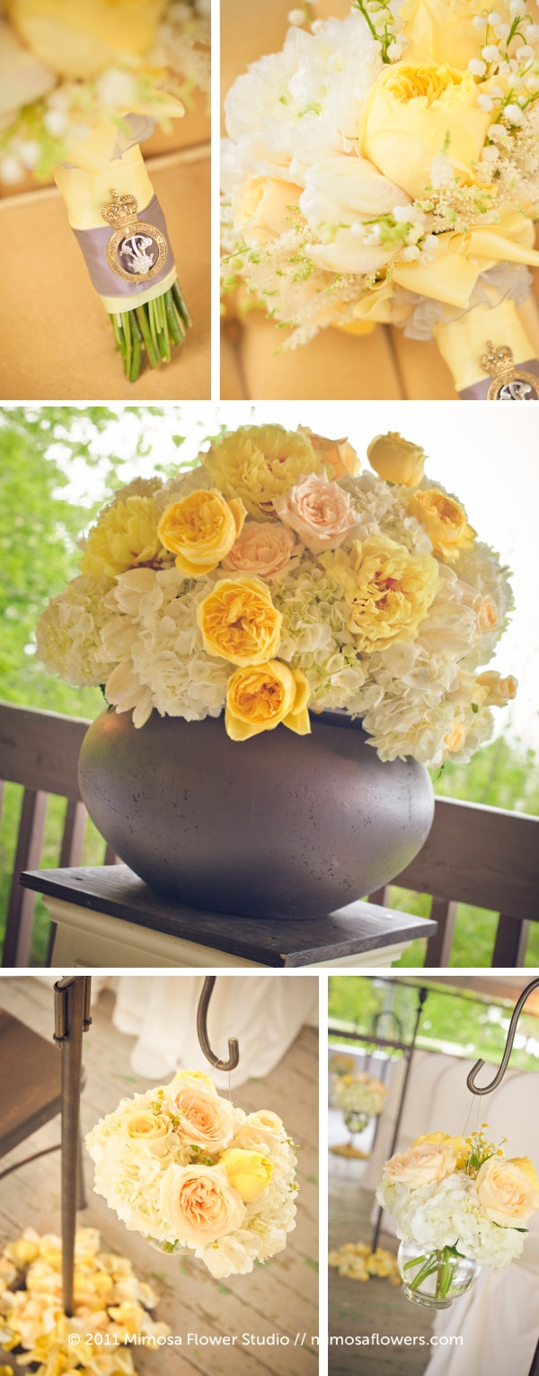 Yellow and White Niagara on the Lake Wedding 2