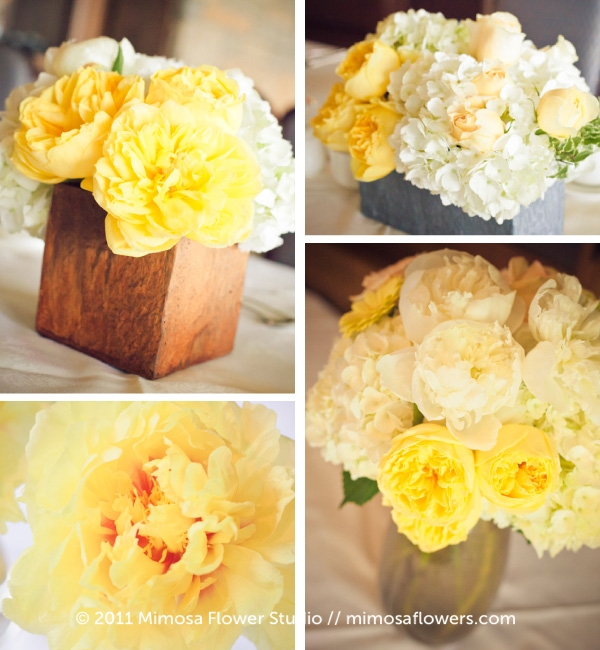 Yellow and White Niagara on the Lake Wedding 4