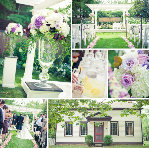 Miller House in Niagara on the Lake - Outdoor Wedding Collage