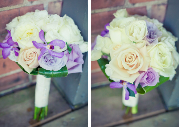 Purple and lavender Bridesmaid's Bouquets