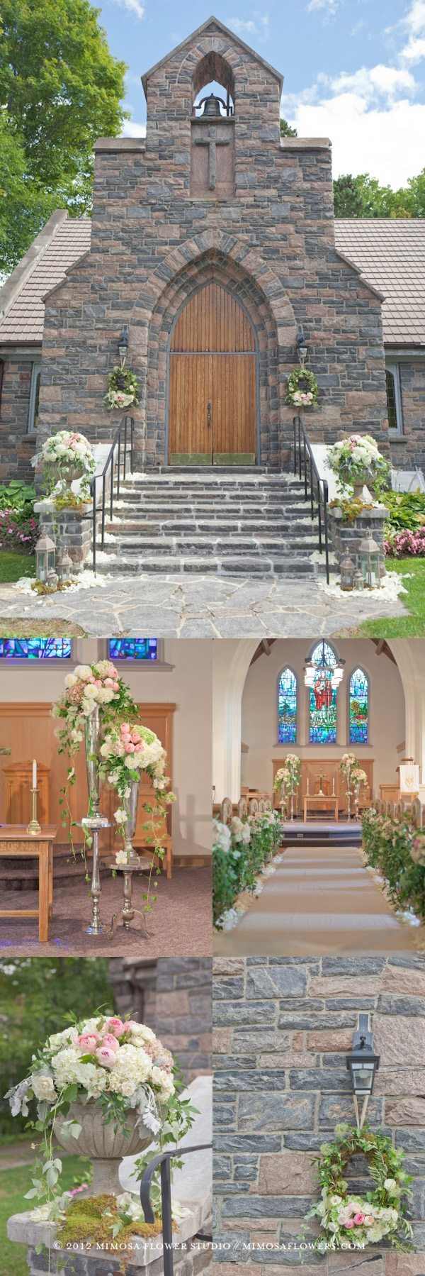 Muskoka Wedding Ceremony - Windermere United Church