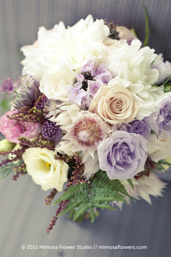 Modern Vintage Bridal Bouquet - 2