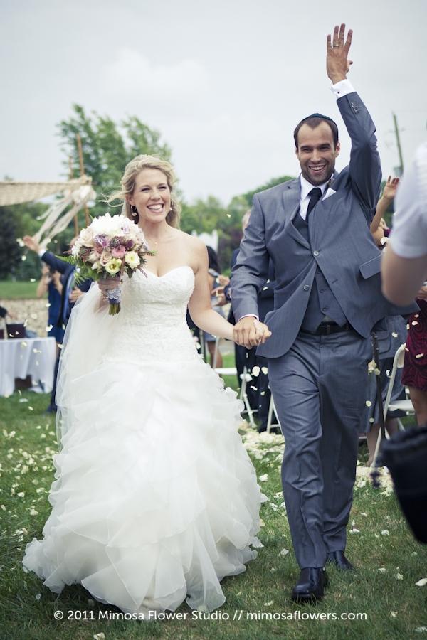 Outdoor Winery Wedding Ceremony - 3