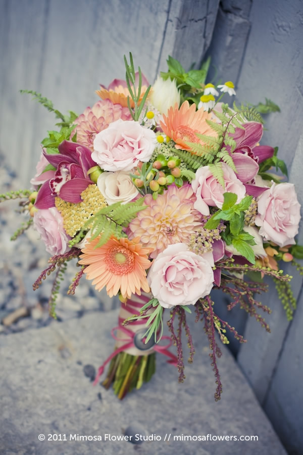 Mimosa Flower Studio - Bliss Bride's Bouquet 1