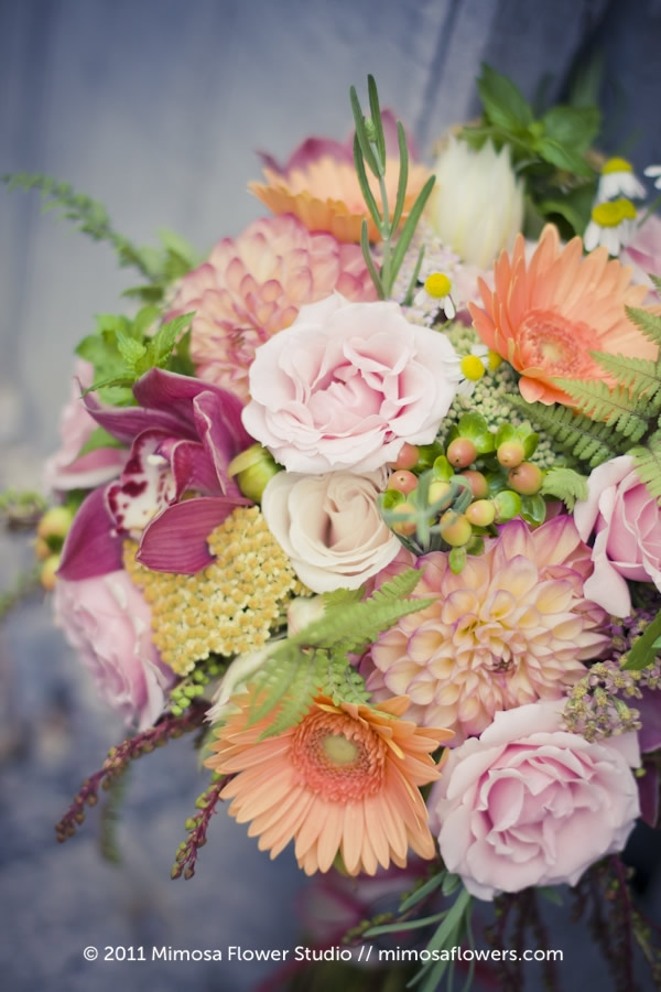 Mimosa Flower Studio - Bliss Bride's Bouquet 2