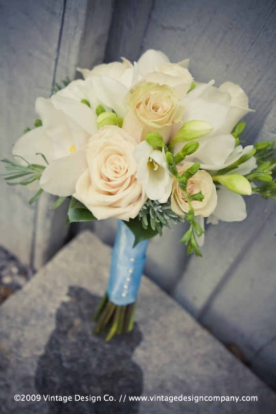 Niagara Wedding Florist // Bridesmaid's Bouquet