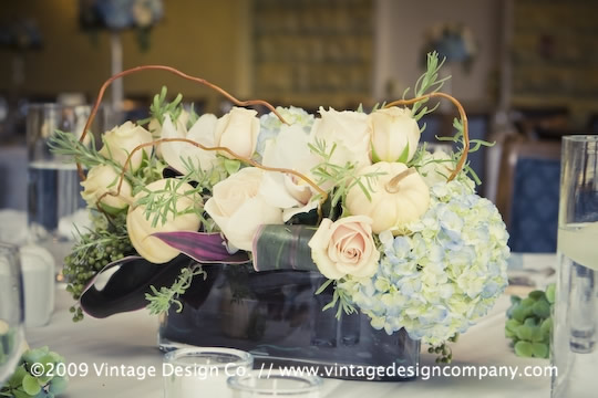 Niagara Wedding Florist // Centerpieces 2