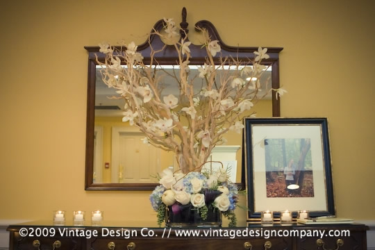 Niagara Wedding Florist // Manzanita Branch Wishing Tree